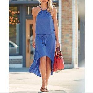 Athleta Malti Maxi Dress in Cerulean Blue Medium